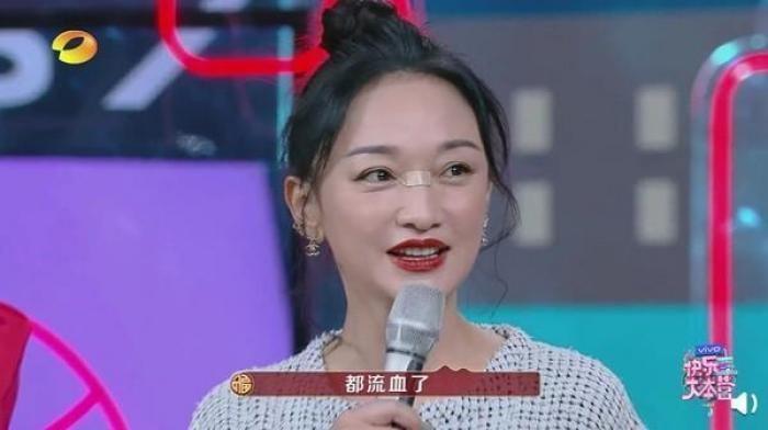 壊死 中国 女優 鼻